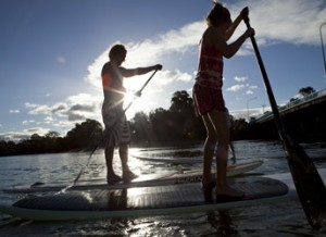 hire stand up paddle boards (SUP) on the Gold Coast